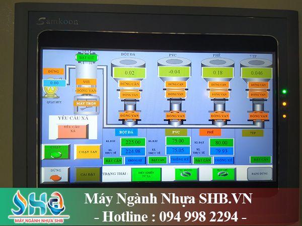 Hệ thống giám sát điều khiển bằng màn hình HMI