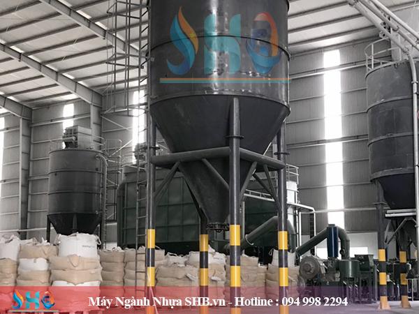 Silo chứa dung tích 10 - 200 tấn