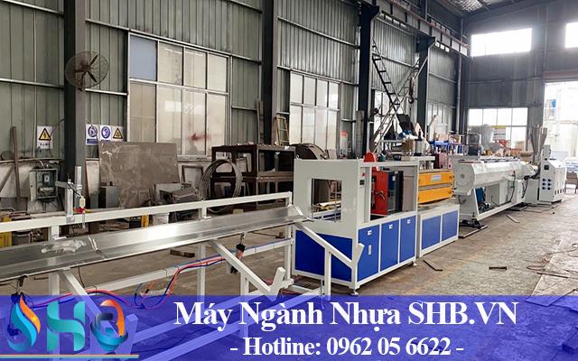Máy sản xuất ống nhựa pvc,pp,pe