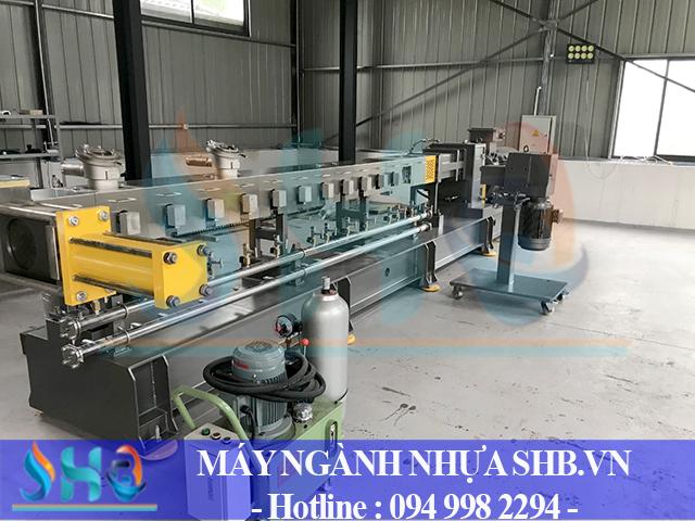 Lắp đặt dây chuyền sản xuất hạt Taical tại Long An